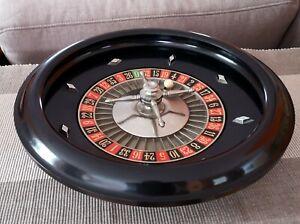 ❗❗❗ ♣♦♣♦ 35 cm GROSSER Roulette Kessel MAN 1200 Gramm Zahlenrad