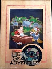 Disney Pin: DCL Stitch's High Sea Adventure - It Was A Great Landing Mickey,