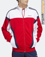 FELPA UOMO/DONNA ADIDAS ORIGINALS TRACK TOP CLASSIC- GD2063 col.bianco/blu/rosso