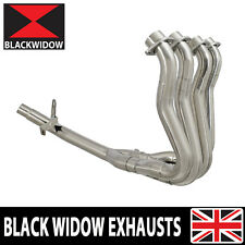 GSX-S 1000 F EXHAUST HEADERS COLLECTOR DOWN FRONT PIPES RACE DE-CAT FULL POWER