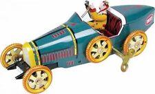 Bugatti mit gelbem Kühler aus Blech, T-35 Racer, Blechspielzeug