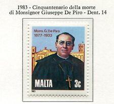 37549) MALTA 1983 MNH** G. de Piro 1v