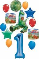 The Good Dinosaur Party Supplies 1st Birthday Arlo and Spot Balloon Bouquet D...