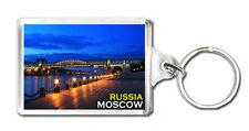 RUSSIA MOSCOW MOD6 KEYRING SOUVENIR LLAVERO