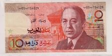 Marocco Morocco  10 dirham  1987    Pick 60a   FDS  UNC    lotto 2657