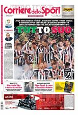 CORRIERE DELLO SPORT 10/05/2018 JUVENTUS VS MILAN 4-0 WINNER COPPA ITALIA JUVE