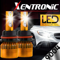 XENTRONIC LED HID Headlight kit 9004 HB1 6000K for 1987-1991 Volvo 780