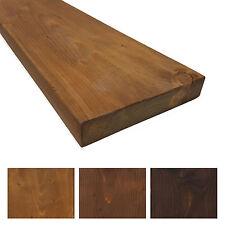 Rustikales Massivholz Wandregal - Wandboard 19cm tief - Individualisierbar