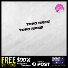 """2x8.5/""""21.6cm Toyo Motorsports Tires decal sticker perform proxes driven d1 drift"""