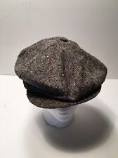 Flatcap, Be Bop Cap, Wool, Tweed, From the French Quarter, New Orleans, Vintage