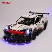 LED Light Up Kit For LEGO 42096 Porsche 911 RSR Technic Series Lighting Blocks