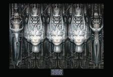Hr Giger Museum Li 2 3D Heads 36 x 24 Inch Poster Ridley Scott