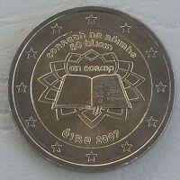 2 Euro Irland 2007 Römische Verträge unz