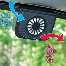 Solar Power Car Window Fan Auto Ventilator Cooling Vehicle Air Vent Portable NA