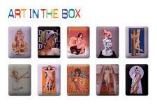 Mel Ramos: Art in the box, 10 Metallschilder Originalbox NEU