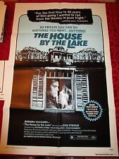 HOUSE BY THE LAKE 1sh '77 Don Stroud, Brenda Vaccaro, Richard Ayres!