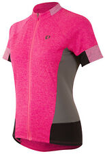 Pearl Izumi 2017 Women's Select Escape Bike Jersey Screaming Pink Parquet Medium