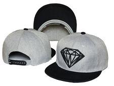 Hot Fashion Diamond SUPPLY CO Snapback style Baseball Hip-Hop Cool CAP/HAT Gray