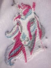 "EMBROIDERED LADIES DRESSING GOWN AMAZING ""UNICORN"" /1 size M /ALSO BETTY BOOP"