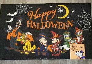 Mickey Minnie Mouse Donald Duck Pluto  Halloween Rug Floor Door Mat Decor Disney