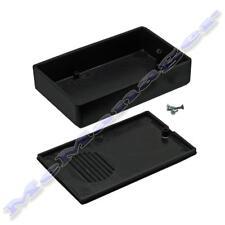 Gabinete De Plástico Abs 90x56x23mm Negro Pequeña Caja de proyecto para circuito electrónico