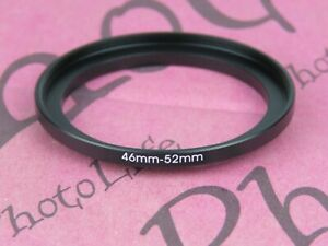 46mm to 52mm Stepping Step Up Filter Ring Adapter 46mm-52mm