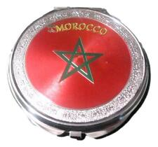 Moroccan Flag Small Hand Mirror