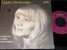 LJUPKA DIMITROVSKA Schenk mir ein altes Grammophon / DDR SP 1975 AMIGA 456086