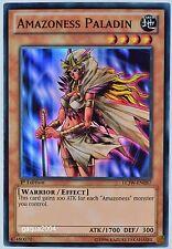 YuGiOh Amazoness Paladin LCJW-EN087 Super Rare 1st Edition