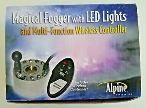 Alpine FG104LWC Magical Remote Control Fountain and Pond Fogger W LED Lights