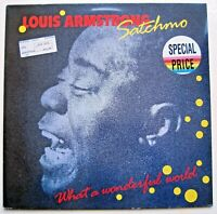 Louis Armstrong - Satchmo - What A Wonderful World Europe LP 1988 '