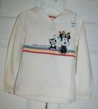 GIRLS SZ 3 TODDLER MINNIE MOUSE LS HOODED SHIRT by JUMPING BEANS/DISNEY-NEW WITH