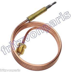 SEPPELFRICKE Thermoelement für Gasheizautomaten, Gasheizöfen 750mm, NEU #1078K