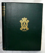Scarce 1913 SCOTLAND MILITARY CAMERON HIGHLANDERS Officer List