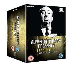 Alfred Hitchcock Presents . The Complete Series . Season 1 2 3 4 5 6 7 . 35 DVD