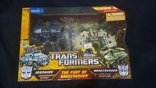 """Transformers """"Hunts for the Decepticons"""" The Fury of Bonecrusher 2pk Walmart exc"""