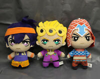 JoJo's Bizarre Adventure Golden Wind Plush Giorno Narancia Mista plush set of 3