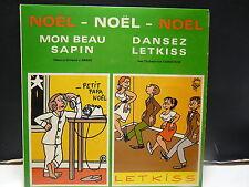 NOEL Mon beau sapin Orch AWARD Dansez...Orch FJORDSTROM  dessins J.EIFFEL