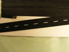 Buttonhole Elastic - Black - 5 metres