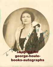 MYRA MORTIMER~VTG~8X10~CONTRALTO~1926