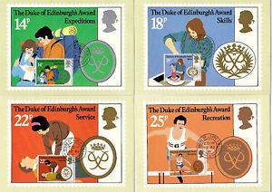 12 AUGUST 1981 DUKE OF EDINBURGH AWARDS SET OF PHQ CARDS 54 HOUSE OF LORDS CDS