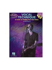 Dena Murray Vocal Technique A Guide To Finding Your Real Voice Lesson MUSIC BOOK
