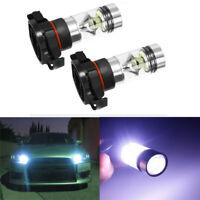 2PCS Car SUV 5202 H16 LED Fog Light Bulbs 6000K Xenon White 1000LM High Power