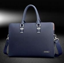Mens genuine leather bag mens real leather briefcase bag mens real leather bag B