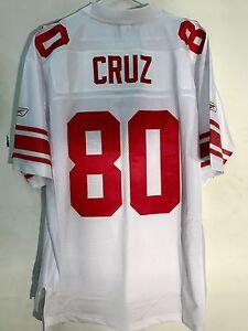 Reebok Premier NFL Jersey New York Giants Victor Cruz White sz 2X