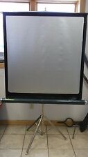 VINTAGE PROJECTOR PROJECTION SCREEN AURORA COLORAMA RETRO PORTABLE