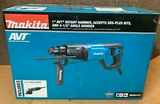 New Makita Corded Electric 1 Avt Sds Rotary Hammer Amp Grinder Hr2641x1