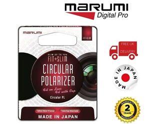 Marumi 67mm Fit Plus Slim Circular Polarizer Filter FTS67CIR (UK Stock)