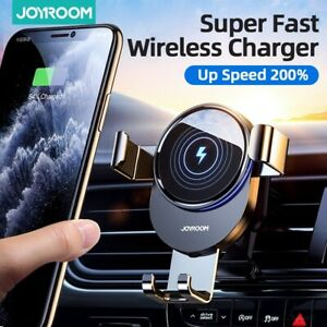 Car Wireless Fast Charger Phone 15w Holder Mount Iphone Samsung Air Vent Mount
