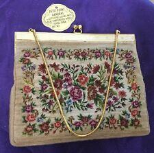 Petit-Point Handbag Real Embroidered Work Peking China